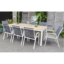 image-Sienna  Modern Garden Dining Set  8 Seater