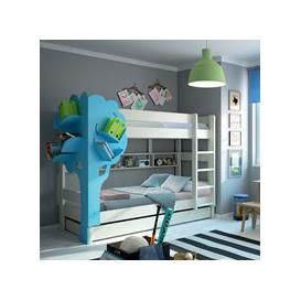 image-Mathy by Bols Dominique Bunk Bed with Tree Bookcase