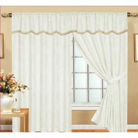image-Dostie Pencil Pleat Room Darkening Thermal Curtains Astoria Grand Panel Size: 168 W x 183 D cm