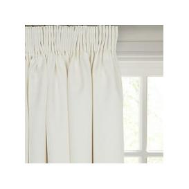 image-John Lewis & Partners Barathea Pair Blackout Lined Pencil Pleat Curtains