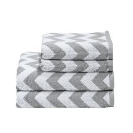 image-Prather 4 Piece Towel Set Ebern Designs