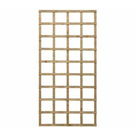 image-Laurelglen Wood Lattice Panel Trellis (Set of 3) Sol 72 Outdoor Size: 183cm H x 91.5cm W x 3.2cm D