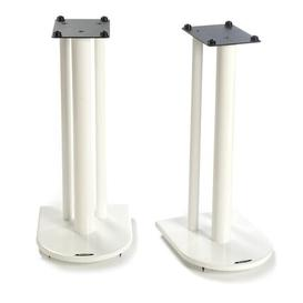 image-60cm Fixed Height Speaker Stand Symple Stuff Finish: Diamond White