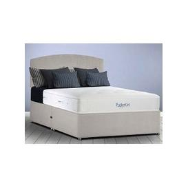 "image-Sleepeezee PocketGel Balance 1200 Divan Set - Single (3' x 6'3""), Side Opening Ottoman, Sleepeezee_Weave Pewter"