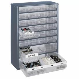 "image-""16.4"""" H x 12"""" W x 5.9"""" D Storage Cabinet Symple Stuff"""