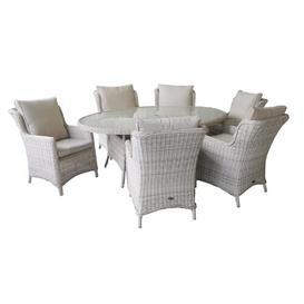 image-Swindon 8 Seater Dining Set With Cushions Dakota Fields