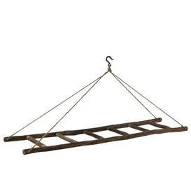 image-Ladder Hanging on Rope 180cm Wide Clothes Rack Symple Stuff