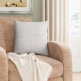 image-Brinwood Scatter Cushion with Filling Three Posts Colour: Putty
