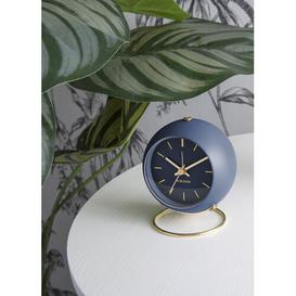 image-Globe Alarm Clock Karlsson Colour: Dark Blue