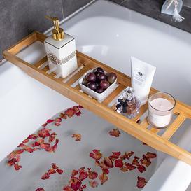 image-Rambler Bath Rack Symple Stuff Finish: Natural