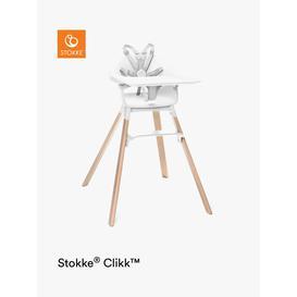 image-Stokke Clikk Highchair, White