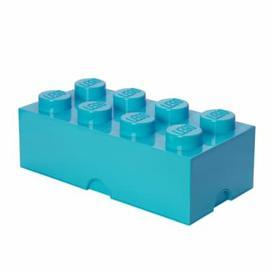 image-Brick Toy Box LEGO Finish: Azure