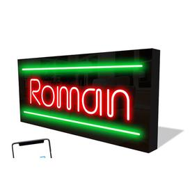 image-Smart LED Neon Sign Roman By Happy Larry Happy Larry