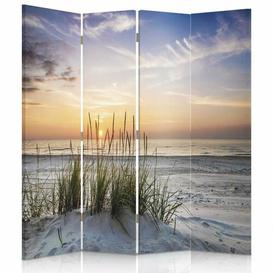 image-Valliere 4 Panel Room Divider Mercury Row