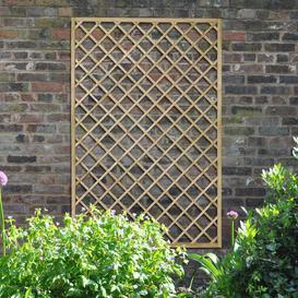 image-Devin Wood Lattice Panel Trellis (Set of 3) Sol 72 Outdoor Size: 180cm H x 120cm W