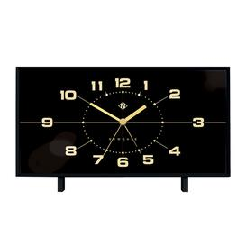 image-Newgate Clocks - Wideboy Alarm Clock - Black