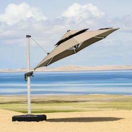 image-Zander 3m Cantilever Parasol Freeport Park Colour (Fabric): Beige