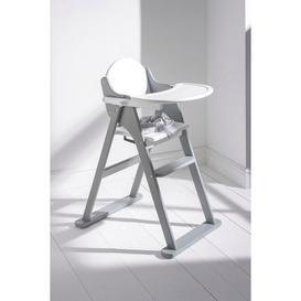 image-Grey Folding Highchair