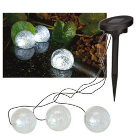 image-Paulo Solar Floating Pond 3 Light LED Decorative and Accent Light Sol 72 Outdoor
