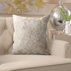 image-Scatter Cushion with Filling Willa Arlo Interiors Size: Small, Colour: Silver
