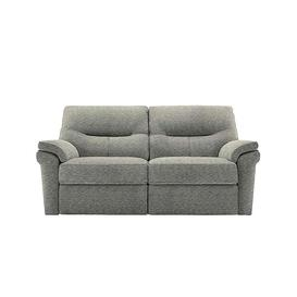 image-G Plan - Seattle 2.5 Seater Fabric Power Recliner Sofa