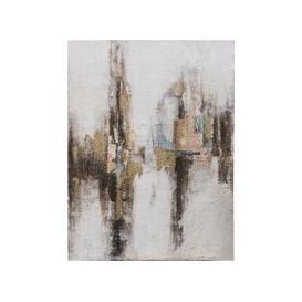 image-Textured Statement Canvas Wall Art