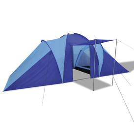 image-Camping tent for 6-8 people Sol 72 Outdoor Colour: Navy blue/Light blue