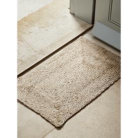 image-NEW Braided Jute Doormat - Medium