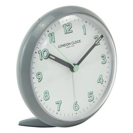 image-Echo Tabletop Clock London Clock Company Finish: Grey