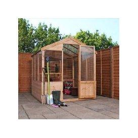image-Mercia Apex Garden Greenhouse (6' x 6')