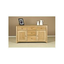 image-Tuscany Oak Dresser Base - 4ft 6in