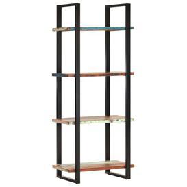 image-Cassidy Bookcase Borough Wharf Shelf Colour: Brown/Green, Size: 180cm H x 80cm W x 40cm D