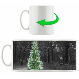 image-Wintry Christmas Tree Coffee Mug East Urban Home