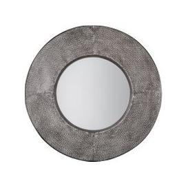 image-Targa Round Mirror Grey
