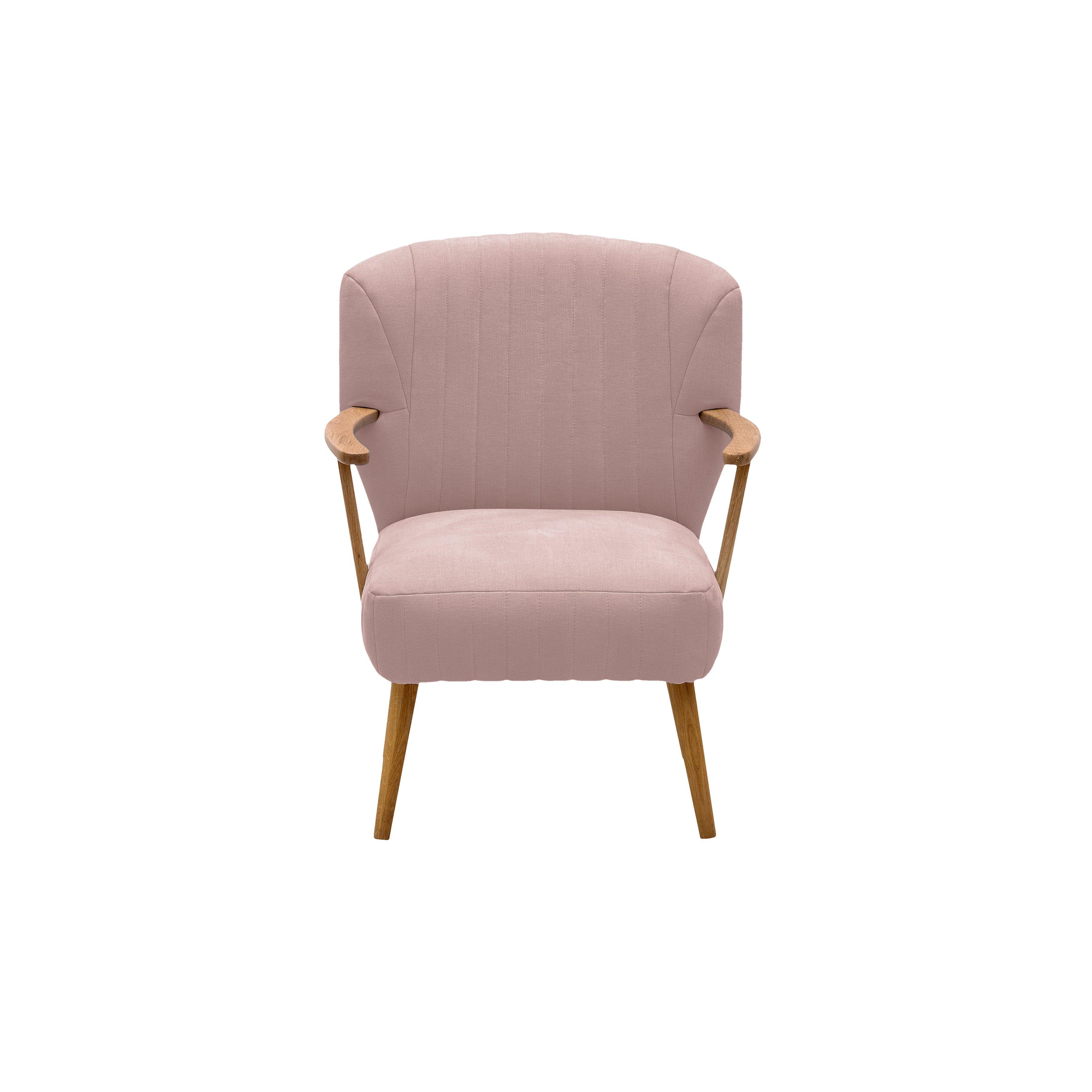 image-Bloomsbury Armchair, Powder Pink