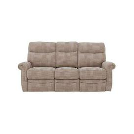 image-G Plan - Avon 3 Seater Fabric Power Recliner Sofa - Beige