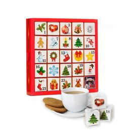 image-English Tea Shop Organic Ornaments Advent Calendar
