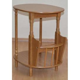 image-Telephone Table Marlow Home Co. Colour: Oak