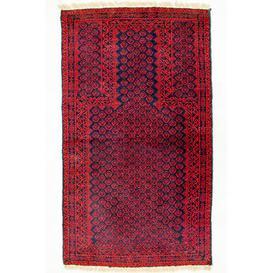 image-Colerane Hand Hooked Wool Red Indoor/Outdoor Rug Bloomsbury Market