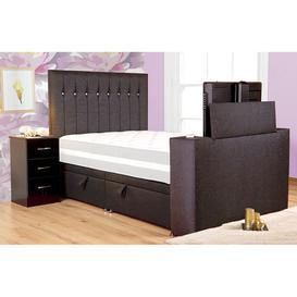 image-Sweet Dreams Sparkle Platform Top Fabric TV Bed