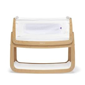 image-SnuzPod 4 Rocking Bedside Crib with Mattress Snuz Colour: Natural