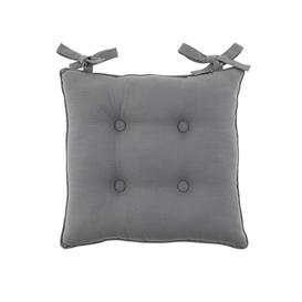 image-Isabelle Seat Pad Charcoal