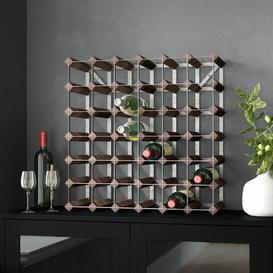 image-Barraza 42 Bottle Wine Rack Symple Stuff Colour: Dark Pine