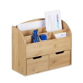 image-Jessie 2 Drawer Desk Organiser Natur Pur