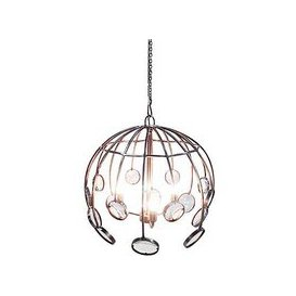 image-Galaxias Chandelier Antique Silver - Only One Left!