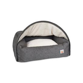 image-Noreen Hooded Dog Bed Archie & Oscar
