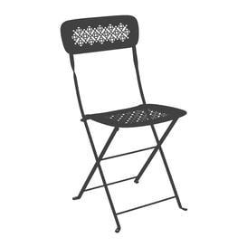 image-Fermob - Lorette Folding Garden Chair - Anthracite