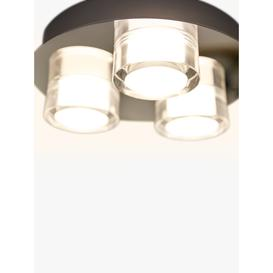 image-Philips myBathroom Resort 3 Light Bathroom Flush Spotlight, Chrome