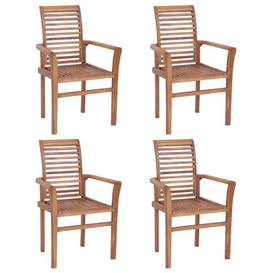 image-Mokena Solid Wood Dining Chair Sol 72 Outdoor