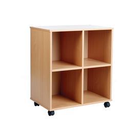 image-Allsorts 4 Cube Bookcase, Beech